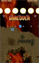 Game Over Screen for Super-X.