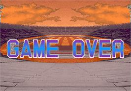 Game Over Screen for Super Cup Finals.