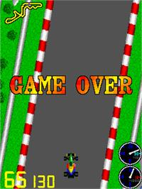 Game Over Screen for Super Formula.