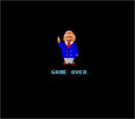 Game Over Screen for Super Othello.