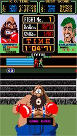 Game Over Screen for Super Punch-Out!!.