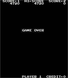 Game Over Screen for Super Rider.