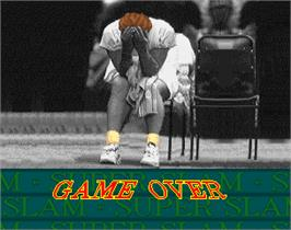 Game Over Screen for Super Slam.