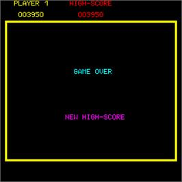 Game Over Screen for Super Tank.