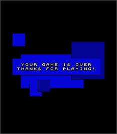 Game Over Screen for Super Trivia Master.