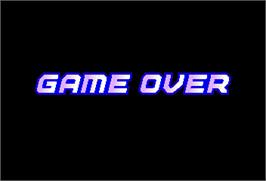 Game Over Screen for Super Volley '91.