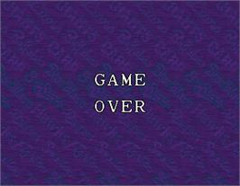 Game Over Screen for Super World Stadium '95.