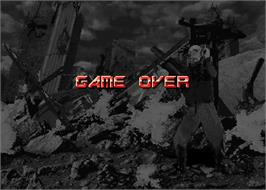 Game Over Screen for Survival Arts.
