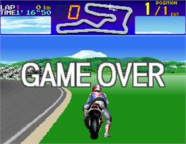 Game Over Screen for Suzuka 8 Hours 2.