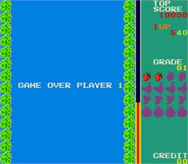Game Over Screen for Swimmer.