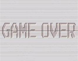 Game Over Screen for Taisen Puzzle-dama.