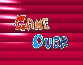 Game Over Screen for Taisen Tokkae-dama.