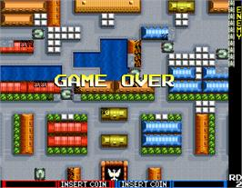 Game Over Screen for Tank Force.