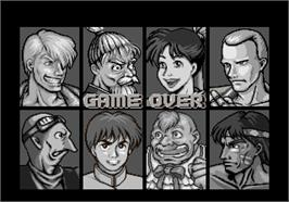 Game Over Screen for Tao Taido.