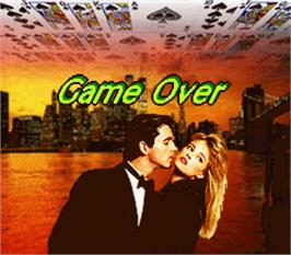 Game Over Screen for Target Ball.