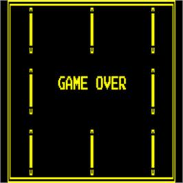 Game Over Screen for Target Panic.