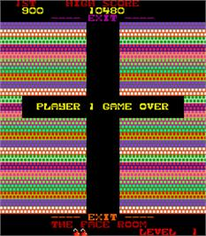 Game Over Screen for Tazz-Mania.