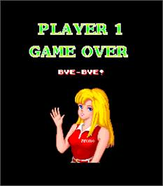 Game Over Screen for Tee'd Off.