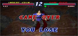Game Over Screen for Tekken 2 Ver.B.
