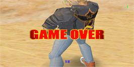 Game Over Screen for Tenth Degree.