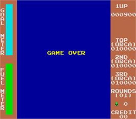 Game Over Screen for The Bounty.
