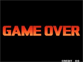 Game Over Screen for The King of Fighters '98 - The Slugfest / King of Fighters '98 - dream match never ends.