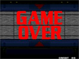 Game Over Screen for The King of Fighters '99 - Millennium Battle.