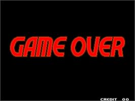Game Over Screen for The King of Fighters 2000.