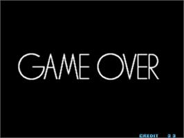 Game Over Screen for The King of Fighters 2002.