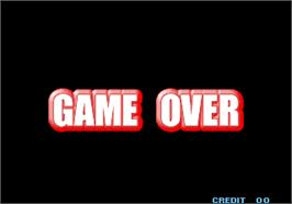 Game Over Screen for The King of Fighters Special Edition 2004.