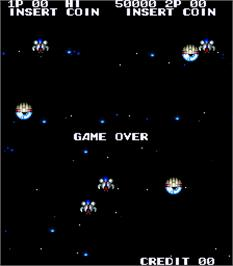 Game Over Screen for The Next Space.