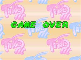 Game Over Screen for Tinkle Pit.