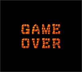 Game Over Screen for Toki.