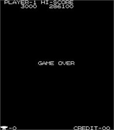 Game Over Screen for Tokio / Scramble Formation.
