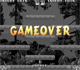Game Over Screen for Toppy & Rappy.
