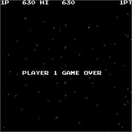 Game Over Screen for Tornado.