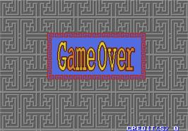 Game Over Screen for Toryumon.