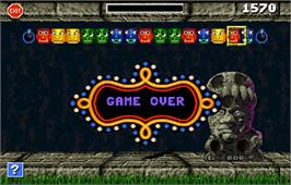Game Over Screen for Touchmaster 5000.