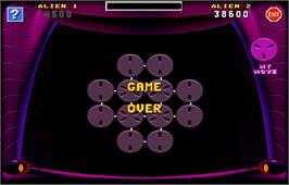 Game Over Screen for Touchmaster 8000.