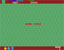 Game Over Screen for Toypop.