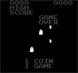 Game Over Screen for Triple Hunt.