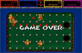 Game Over Screen for Trog.