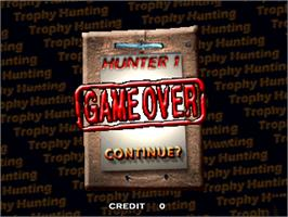 Game Over Screen for Trophy Hunting - Bear & Moose V1.0.