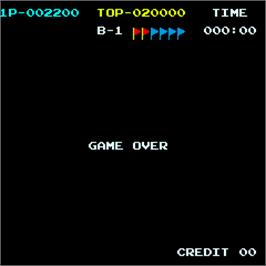 Game Over Screen for Tropical Angel.