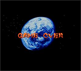 Game Over Screen for Twin Action.
