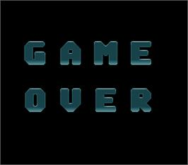 Game Over Screen for Twin Adventure.