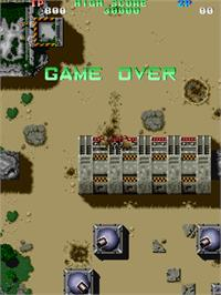 Game Over Screen for Twin Cobra.