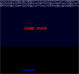 Game Over Screen for Two Tigers.