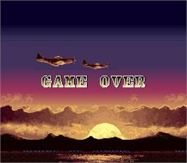 Game Over Screen for US AAF Mustang.