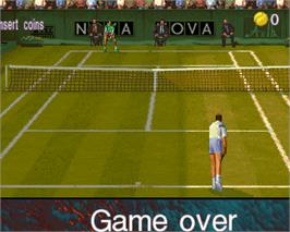 Game Over Screen for Ultimate Tennis.
